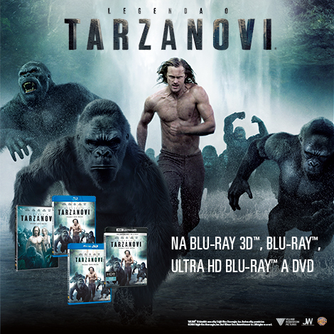 Legenda o Tarzanovi DVD, BLU-RAY