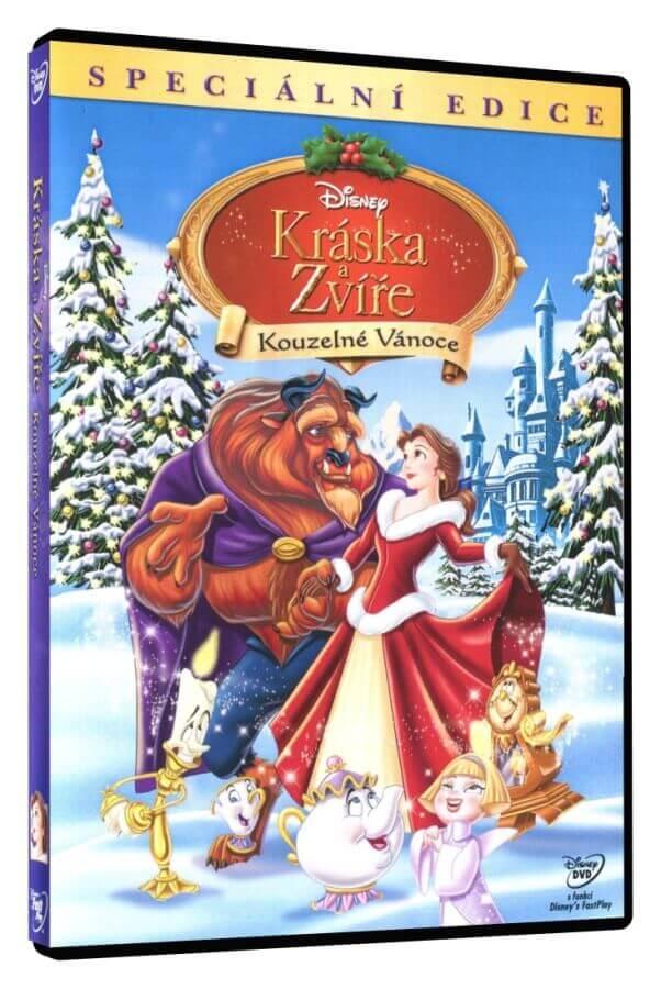 Kráska a zvíře: Kouzelné Vánoce (DVD)