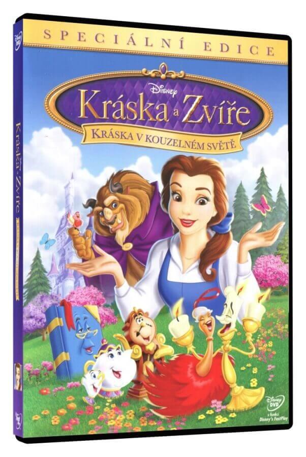 Kráska a zvíře: Kráska v kouzelném světě (DVD)