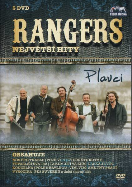 RANGERS - největší hity (4xCD+5xDVD+1xCD BONUS)