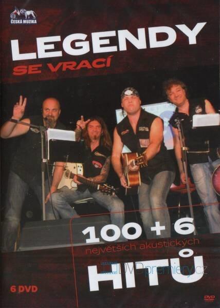 Legendy se vrací - 100+6 největších akustických hitů (6xCD+6xDVD)