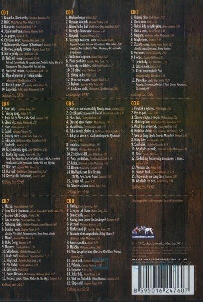 Zlatá podkova Country hitů - 8xCD+1xDVD+1xCD