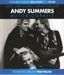 ANDY SUMMERS - Autobiografie COMBO (BLU-RAY+DVD)