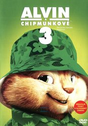 Alvin a Chipmunkové 3 (DVD) - edice Big Face