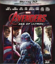 Avengers 2: Age of Ultron (2D+3D) (2 BLU-RAY)
