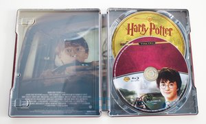 Harry Potter a tajemná komnata (BLU-RAY+DVD BONUS) - STEELBOOK