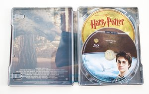 Harry Potter a vězeň z Azkabanu (BLU-RAY+DVD BONUS) - STEELBOOK