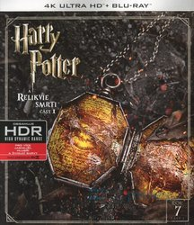 Harry Potter a Relikvie smrti - 1. část (4K ULTRA HD+BLU-RAY) (2 BLU-RAY)