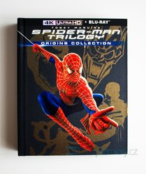 Spider-Man ORIGINS (4K ULTRA HD+BLU-RAY) (6 BLU-RAY+BLU-RAY BONUS) - DIGIBOOK