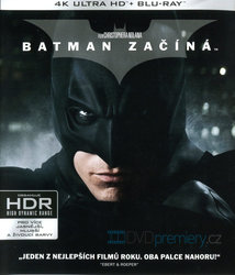 Batman začíná (4K ULTRA HD+BLU-RAY+BD BONUS) (3 BLU-RAY)