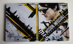 Mission: Impossible 5 - Národ grázlů (4K ULTRA HD+BLU-RAY) (2 BLU-RAY) - STEELBOOK