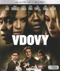 Vdovy (4K ULTRA HD+BLU-RAY) (2 BLU-RAY)