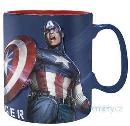 Hrnek Captain America 460 ml
