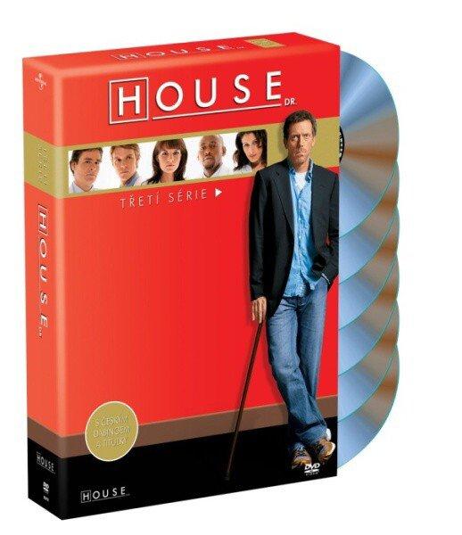 Dr. House 3. sezóna - 6xDVD