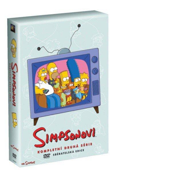 Simpsonovi 2. sezóna 4xDVD (22 dílů)