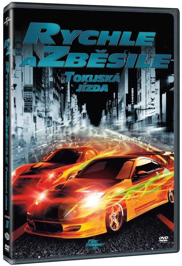 Rychle a zběsile 4: Rychlí a zběsilí (DVD)