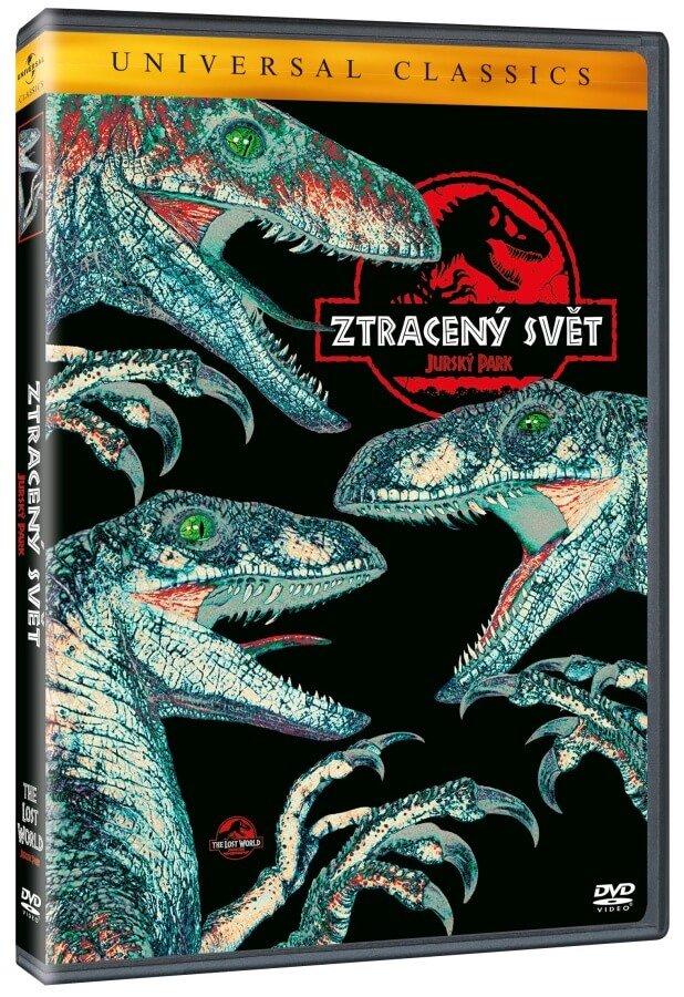 Ztracený svět: Jurský park (DVD) - edice Universal Classics