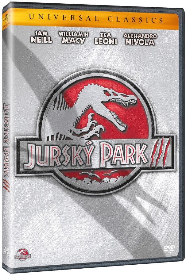 Jurský park 3 (DVD) - edice Universal Classics