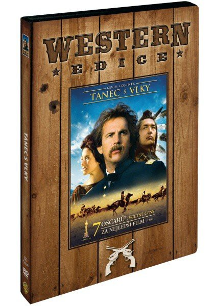 Tanec s vlky (DVD) - edice western