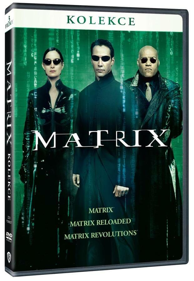 Matrix trilogie kolekce (3 DVD)