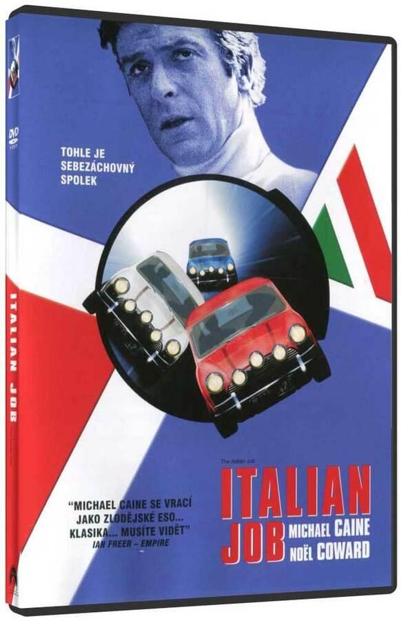 Italian job (1969) (DVD) (pouze s českými titulky)