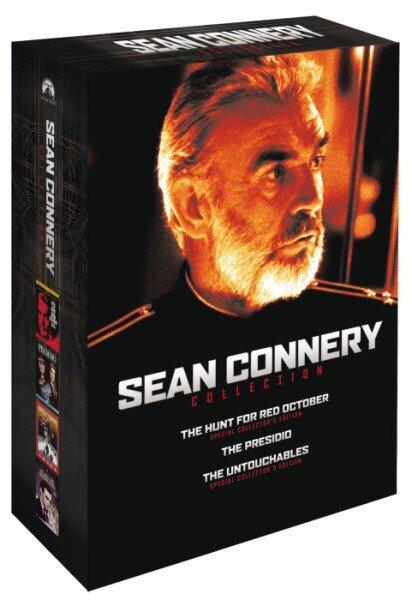 Sean Connery kolekce - 4xDVD