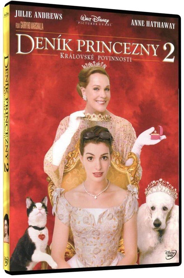 Deník princezny 2 (DVD)