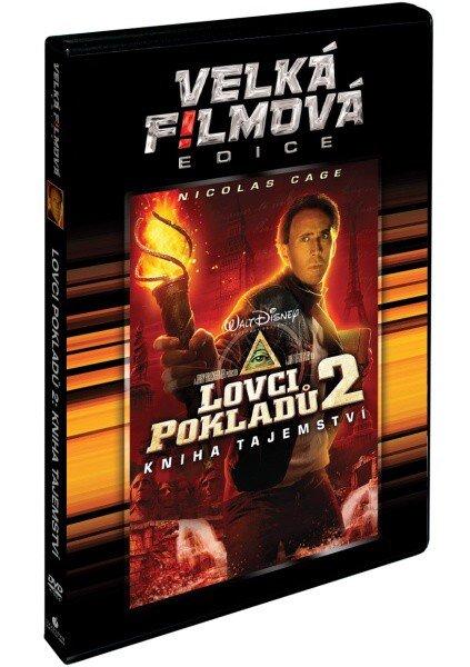 Lovci pokladů 2: Kniha tajemství (DVD) - velká filmová edice
