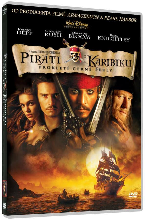 Piráti z Karibiku: Prokletí Černé perly (DVD)