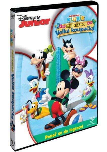 Disney Junior: Mickeyho klubík - Mickeyho velká koupačka (DVD)