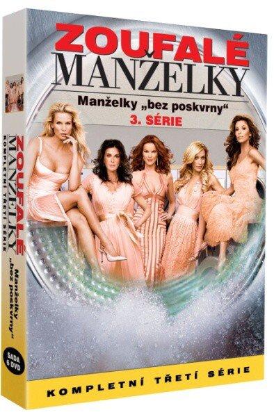 Zoufalé manželky 3. sezóna - 6xDVD