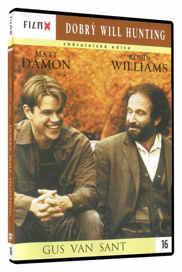 Dobrý Will Hunting (DVD) - edice Film X