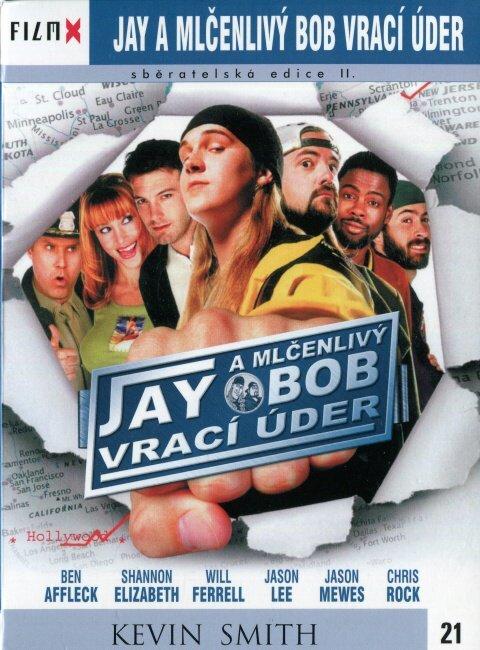 Jay a mlčenlivý Bob vrací úder (DVD) - edice Film X