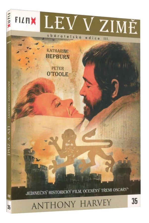Lev v zimě (DVD) - edice Film X