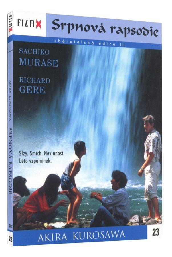 Srpnová rapsodie (DVD) - edice Film X