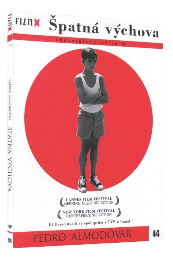 Špatná výchova (DVD) - edice Film X