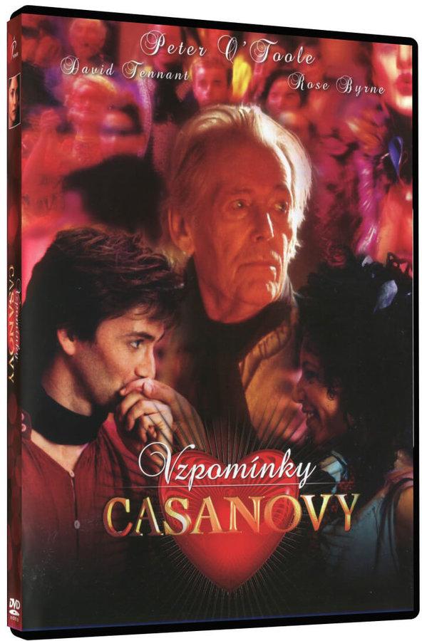 Vzpomínky Casanovy (DVD)