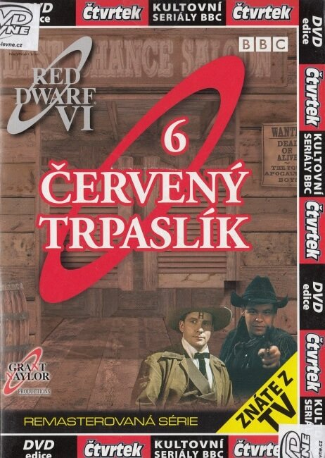 Červený trpaslík 6 (DVD) (papírový obal)