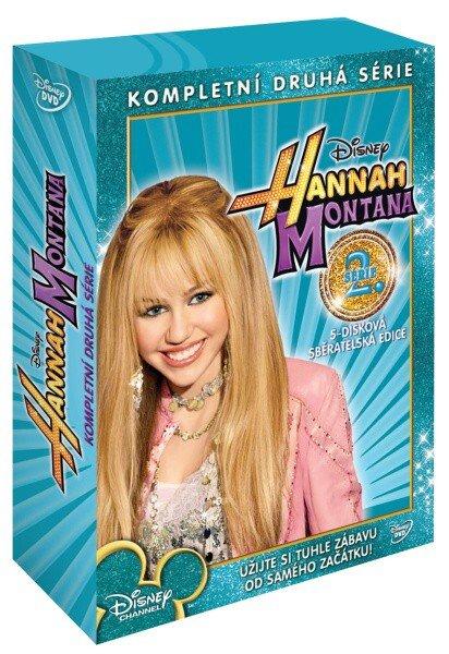 Hannah Montana 2. sezóna - 5xDVD