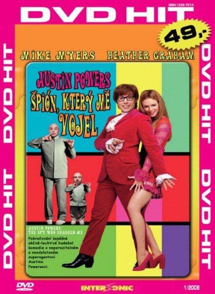 Austin Powers: Špion, který mě vojel - edice DVD-HIT (DVD) (papírový obal)