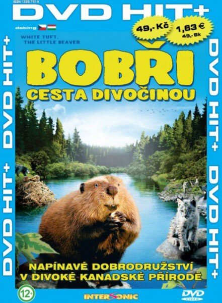 Bobři - cesta divočinou (DVD) (papírový obal)