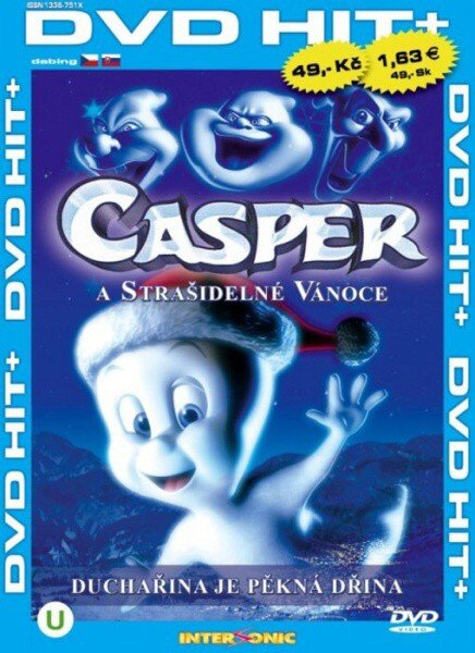 Casper a strašidelné Vánoce (DVD) (papírový obal)