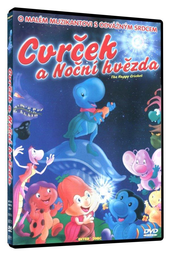 Cvrček a Noční hvězda (DVD)