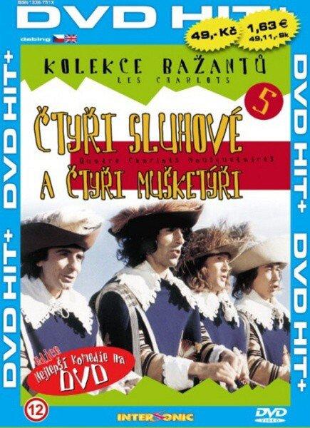 Čtyři sluhové a čtyři mušketýři - edice DVD-HIT (DVD) (papírový obal)
