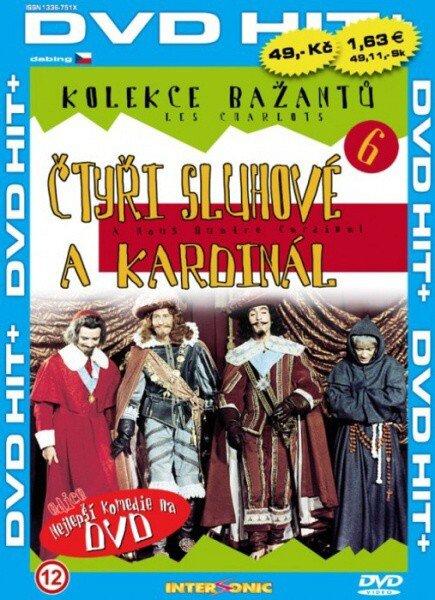 Čtyři sluhové a kardinál - edice DVD-HIT (DVD) (papírový obal)