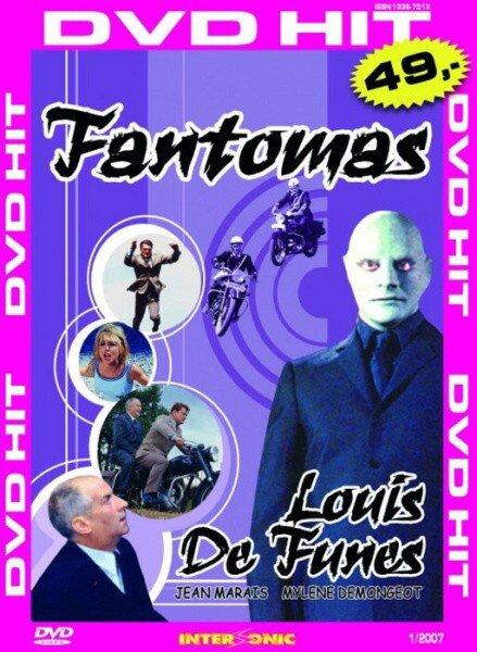 Fantomas (DVD) (papírový obal)