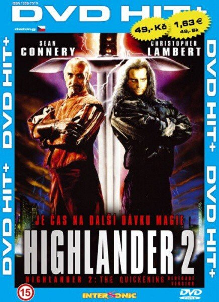Highlander 2 - edice DVD-HIT (DVD) (papírový obal)