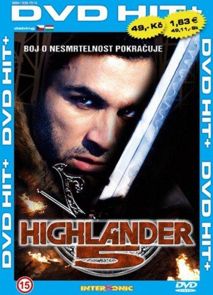 Highlander 5 - edice DVD-HIT (DVD) (papírový obal)