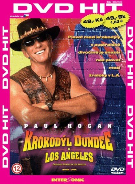 Krokodýl Dundee v Los Angeles - edice DVD-HIT (DVD) (papírový obal)