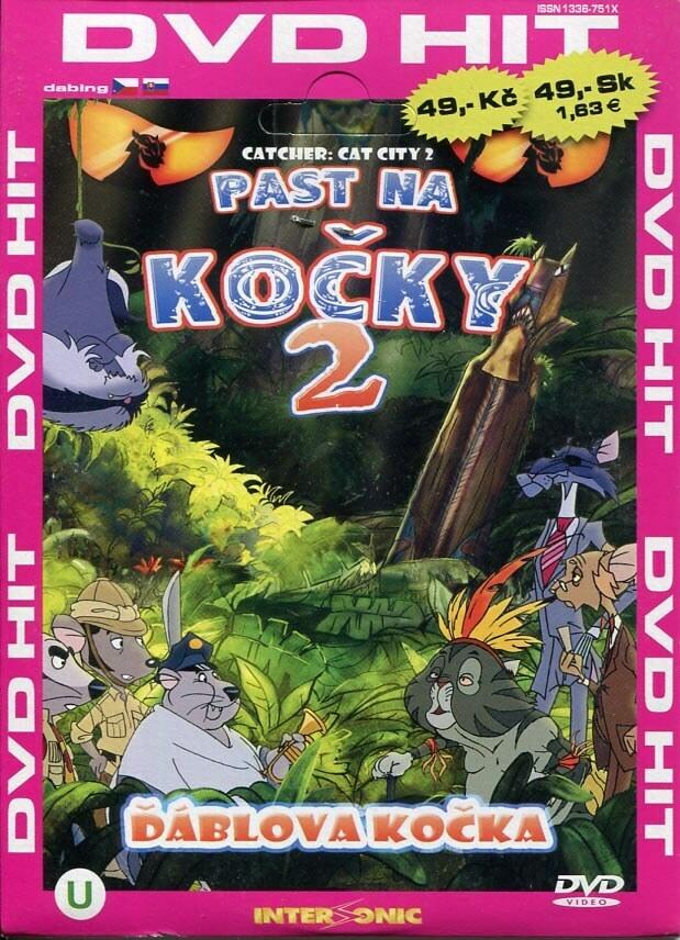 Past na kočky 2 - edice DVD-HIT (DVD) (papírový obal)